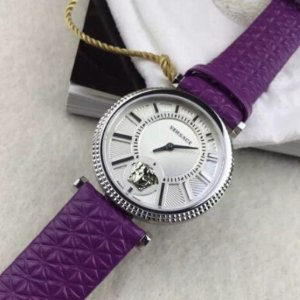 $299 ( Retail $1,295 )VERSACE V-Helix Dial Leather Ladies Watches ( 2 styles )