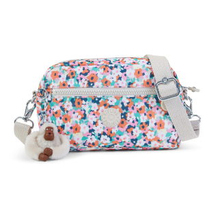 Eugene Printed Mini Crossbody Bag - Meadow Flower Pink | Kipling
