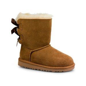 UGG® Chestnut Bailey Bow Boot - Little Kids & Kids | zulily