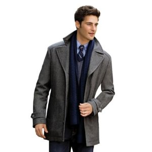 Executive Collection Traditional Fit 3/4 Length Car Coat CLEARANCE