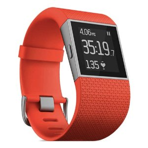 Fitbit Surge Smartwatch with Heart Rate Monitor - iPhone and Android, and Windows
