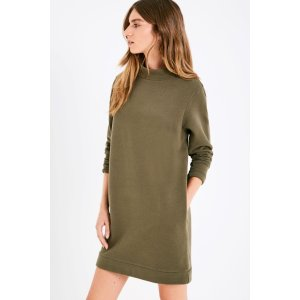 LINLEY HIGH NECK SWEAT DRESS