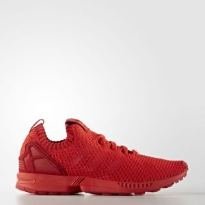 adidas ZX Flux Primeknit Shoes Men's Red  | eBay