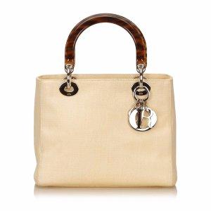 Dior Pre-Owned: Canvas Lady Dior (426812601) | Bluefly.Com