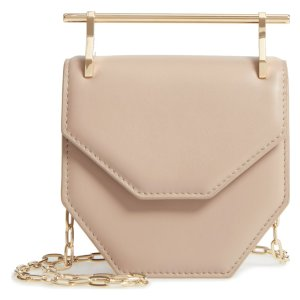 Mini Amor Fati Single Calfskin Leather Shoulder Bag