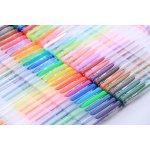 Lineon 50 Colors Gel Pens,Gel Pen Set for Adult Coloring Books Art Markers