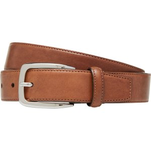 Stitched-Edge Leather Belt CLEARANCE - Accessories | Jos A Bank