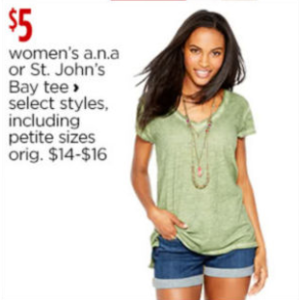 T-shirts Tops for Women - JCPenney