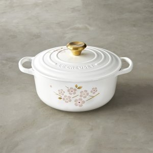 Take Extra $50 OffLe Creuset Signature Cast-Iron Cherry Blossom Round Dutch Oven