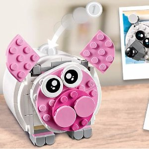 Free Mini Piggy BankWith $75+ Purchase @ LEGO®