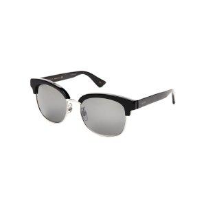 GG 0056/S Black Clubmaster Wayfarer Sunglasses - Century 21