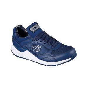 Skechers Navy OG 95 Hug It Out Leather Sneaker | zulily