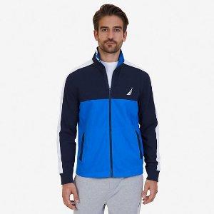 Active Fit Zip-Up Jersey Sweatshirt