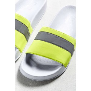 UO Reflective Slide Sandal | Urban Outfitters