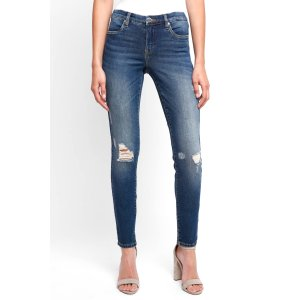 Blank NYC Great Escape Skinny With Knee Rips