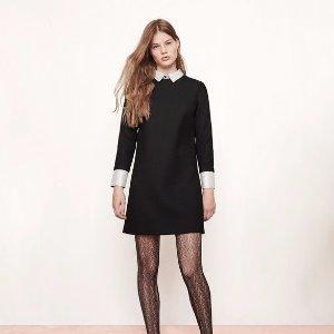 RANDA Short dress with trompe-l'oeil effect - Dresses - Maje.com