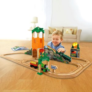 Thomas & Friends Wooden Railway Sam and the Great Bell Train Set | CGL51 | Fisher-Price