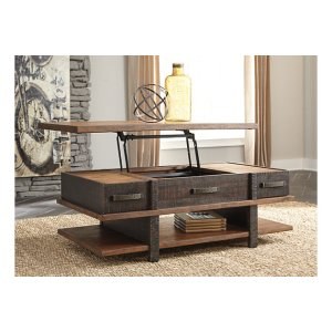 Stanah Coffee Table with Lift Top | Ashley Furniture HomeStore