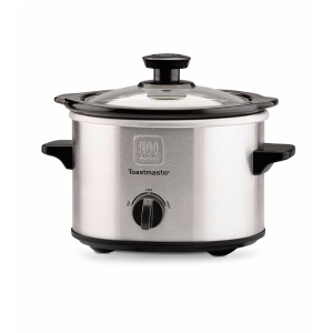 Toastmaster® 1.5qt. Stainless Steel Slow Cooker | Bon-Ton