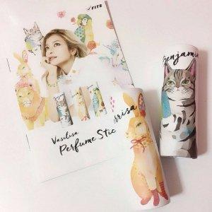 直邮中美 $14.39/RMB99起日本模特 Rola香水品牌 Vasilisa 可爱动物图案 固体香水 多款 热卖