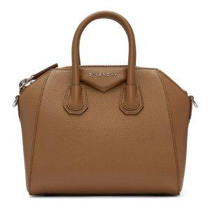 Brown Mini Antigona Bag