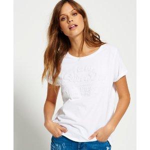 Superdry Vintage Logo Embossed Boyfriend T-shirt