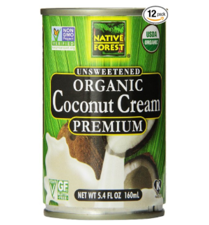 $8.49Native Forest Organic Premium Coconut Cream, Unsweetened, 5.4 Ounce (Pack of 12)
