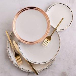 Fishs Eddy Gilded Dinnerware | west elm