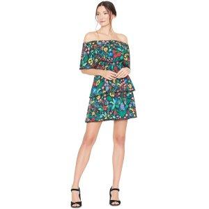 Tylie Off Shoulder Short Ruffle Dress