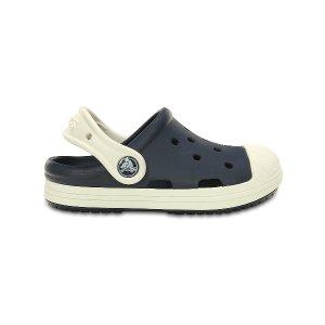 Crocs Navy & Oyster Bump It Clog - Toddler & Kids