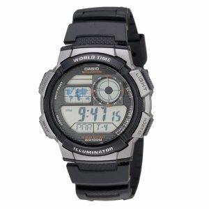 $10.35 (原价$24.95)Casio 卡西欧男士运动腕表 AE1000W-1B