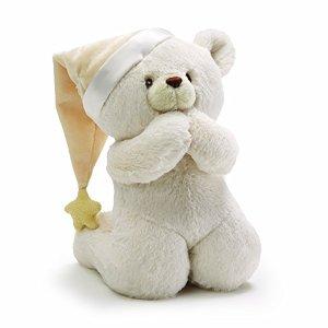 Amazon.com: GUND Prayer Teddy Bear Musical Baby Stuffed Animal: Baby