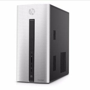 物超所值!$449.99官翻 HP Pavilion 560-p015hvr游戏台式机 (i5-6400, RX 480, 8GB, 1TB+128GB SSD)