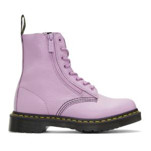 Dr. Martens: Purple Pascal Boots