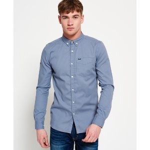 Superdry Ultimate Bedford Button Down Shirt - Men's Shirts