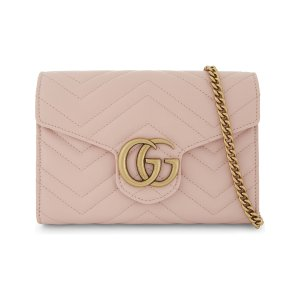 GUCCI - Marmont leather cross-body bag