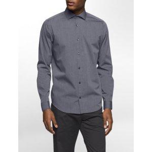slim fit infinite cool striped dobby shirt | Calvin Klein