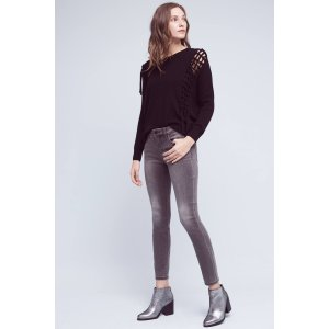 Pilcro Stet Mid-Rise Ankle Jeans | Anthropologie