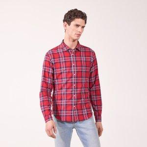 Checked shirt - Shirts - Sandro-paris.com