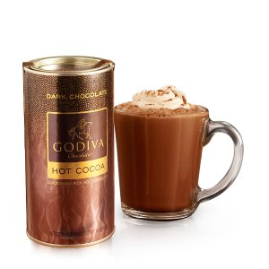 Dark Chocolate Hot Cocoa Canister | GODIVA