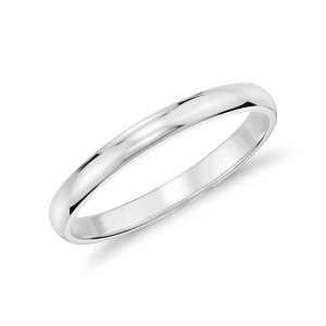 Classic Wedding Ring in Platinum (2mm) | Blue Nile