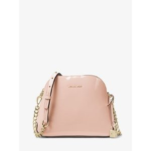 Mercer Patent Leather Dome Crossbody
