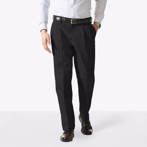 Big & Tall Easy Khaki Pleat