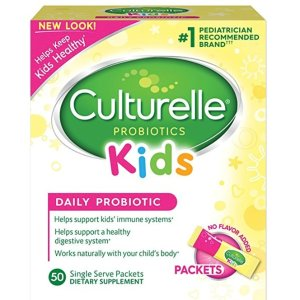 $25.26Culturelle Kids Packets Daily Probiotic Formula with Naturally Sourced Lactobacillus GG, 50 Count
