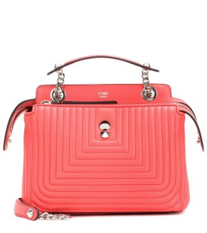 $1440FENDI DotCom Click leather shoulder bag
