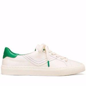 $90.3 (原价$195) +包邮Tory Burch多色小白鞋热卖