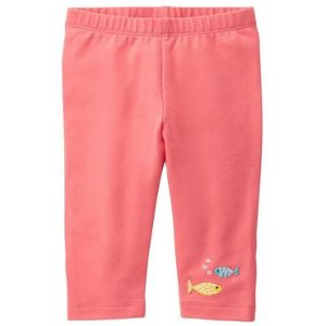 Toddler Girls Coral Fish Friend Leggings by Gymboree
