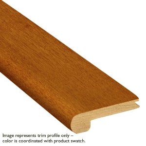 Bruce Gunstock Oak 3/4 in. Thick x 3-1/8 in. Wide x 78 in. Length Stair Nose Molding-TS8RK45M - The Home Depot