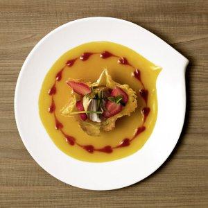 Flow Dinner Plate 11 x 10 1/2 in - Villeroy & Boch