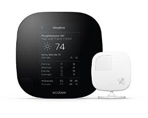 $199Ecobee3 Thermostat with Sensor, Wi-Fi, 2nd Generation, Works with Amazon Alexa